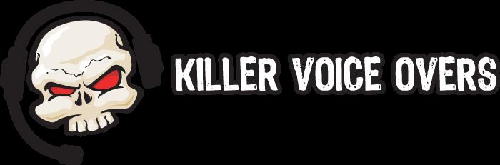 Killer Voice Overs Retina Logo